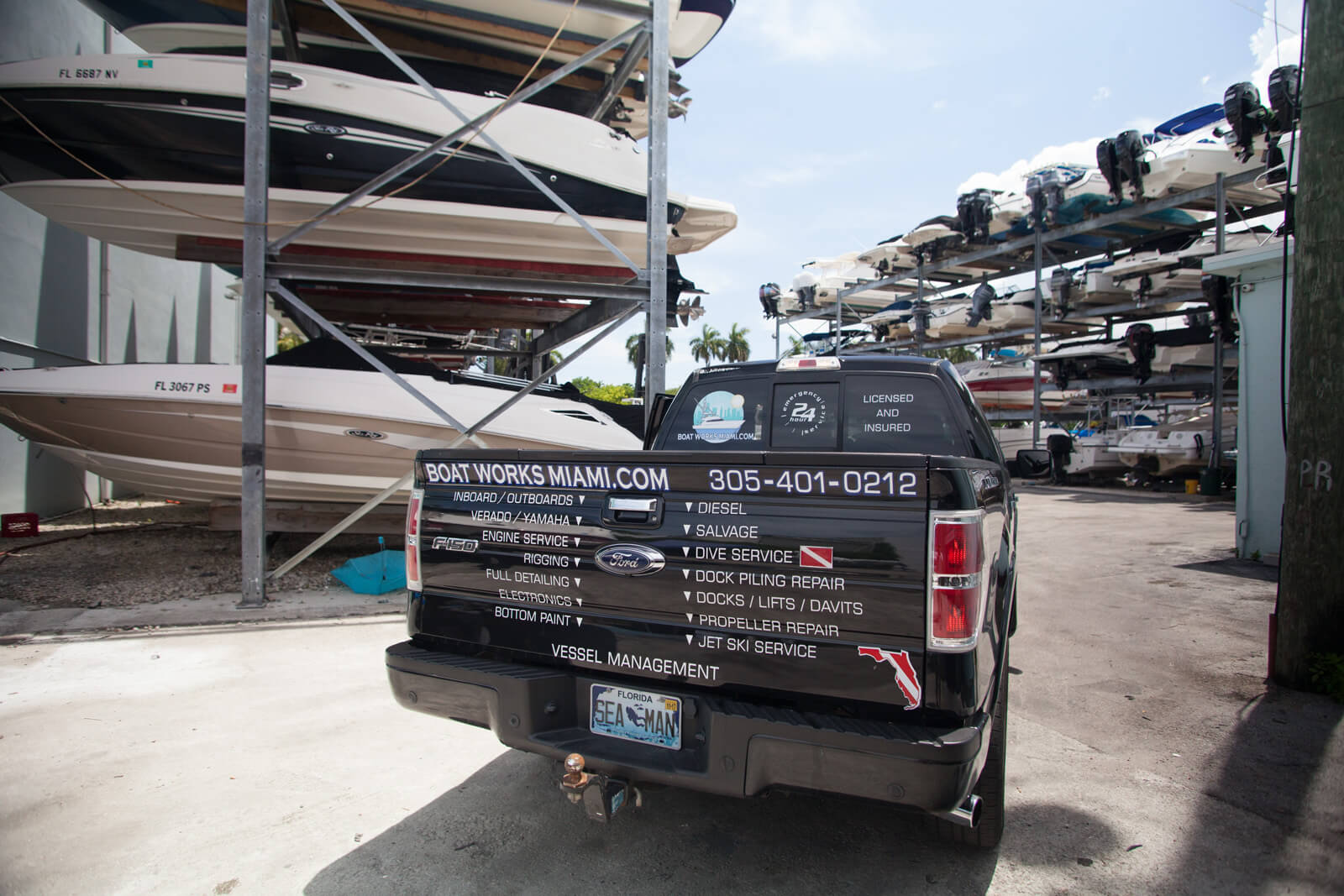 Boat Works Miami Mobile Boat Mechanic