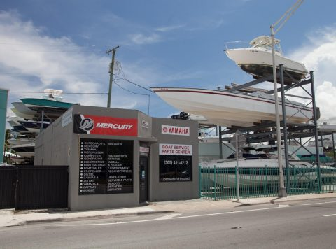 Boat Works Miami Store Front
